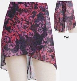 Capezio 1290-Print Wrap Skirt-TWI