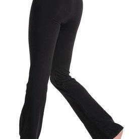 Mondor 1610-Jazz Pants with Flare Leg and a V waist-BLACK