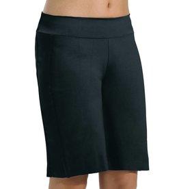 MotionWear 7186-Boy's Bermuda Shorts-BLACK-CHILD