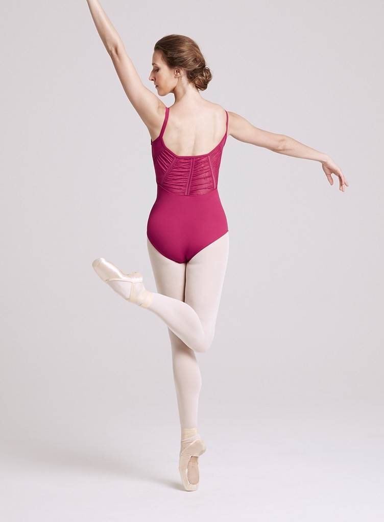 Bloch L8617-Bloch Leotard Anila-CHERRY