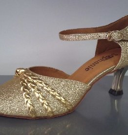 GOGO / Stephanie Dance Shoes 5025-32-Ballroom Shoes 2'' Suede Sole-OR