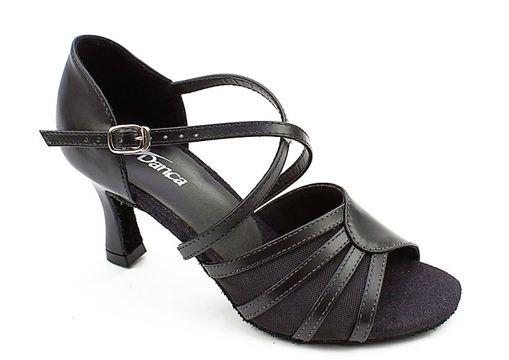 SoDanca BL160-Reilly Ballroom Shoes 2.5'' Suede Sole-BLACK