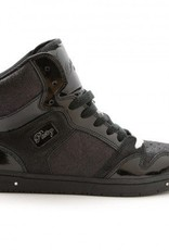 Pastry Dance 152004-Glam Pie Glitter Dance Sneakers-BLACK