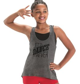 MotionWear 4873-Lets Dance Forever Stripe Tank Child-LARGE CHILD
