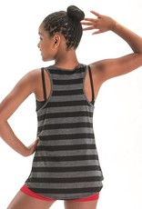 MotionWear 4873-Lets Dance Forever Stripe Tank Adult-MEDIUM