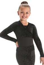 MotionWear 3380-117-Pullover Warp Jacket Child-BLACK
