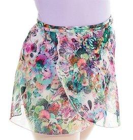 Mondor 3619-Mesh Wraparound skirt-BUTTERFLIES