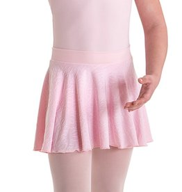 MotionWear 1008-Pull-On Skirt-BLACK-IC