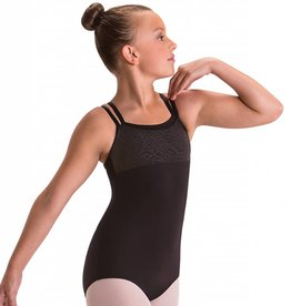 MotionWear 2098-Layered Empire Top Cami leotard