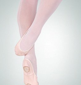 BodyWrappers 247C-Low Vamp Canvas Ballet Slipper Maria TotalStretch-PEACH