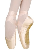 Grishko 1525-Miracle Pointe Shoes U-shaped Medium Vamp And Plate Form-BALLET PINK