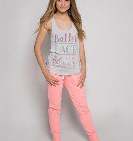 Sugar & Bruno D8038-Ballet Lace Racerback