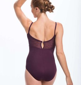 AinslieWear 1021SW-Kristy Small Straps Leotard With Mesh Back