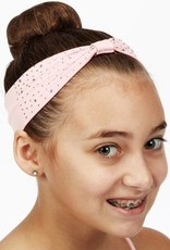 Dasha 2651P-Bejeweled Headband-PINK