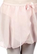 Dasha 4433P-Child Crinkle Glitter Skirt-PINK