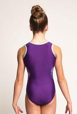 MotionWear 1331-372-Gym Binding Racerback Leo-CRUISE