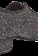 "Diamant 140-034-511-A-Ballroom Shoes 1.5"" Suede Sole-MULTICOLOR GLITTER"