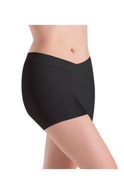 MotionWear 7113-V-Waist Shorts DriLine-BLACK