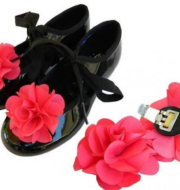 American Dance Supply ADS901-Pince à Chaussures Fleur-ROUGE