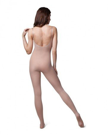 Capezio 1811W-Soft Body Tight with Clear Straps, LSN