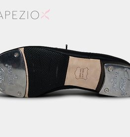 Capezio CG19-Cadance Tap Shoes Leather Sole Adult-BLACK