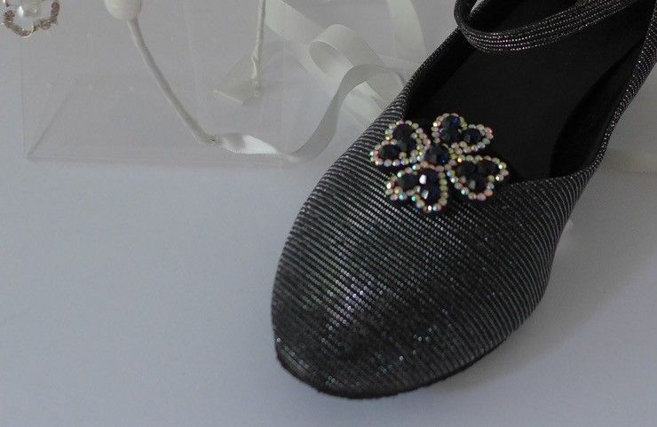 FH2 SC002-Rhinestone shoe clip