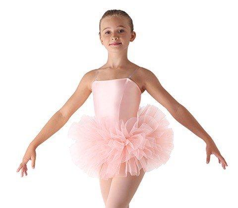 "Leo's Dancewear 30-18-Bando Tutu 4 layers 6""-BLACK-CHILD"