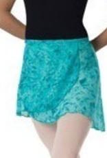 Leo's Dancewear 60-53-Wrap Skirt-Child OneSize-TEAL