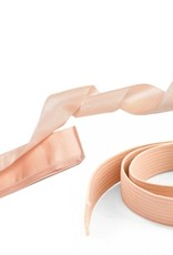 "MDAC Satin Ribbons 24"" /4 pieces with Elastics 9"" /2 pieces"