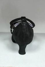 "Merlet BADRAS-1388-001-Ballroom Shoes 1.7"" Suede Sole Canaula Leather-BLACK"
