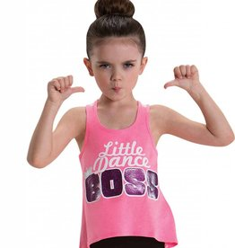 MotionWear 4749-017-Little Dance Boss Tank-SMALL CHILD