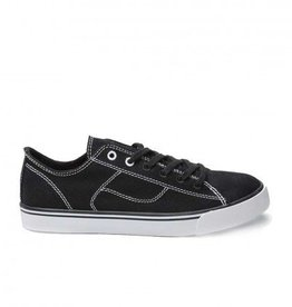 Pastry Dance PA172020-Cassatta Stretch Canvas LowTops-BLACK/WHITE