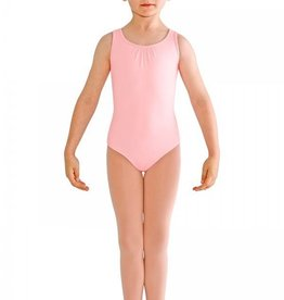 Bloch CL8685-Studded Pearl Bow Back Tank Leotard-PINK-6X7