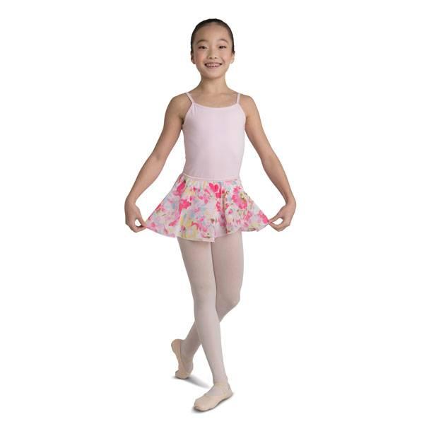 Danshuz 2630C-Floral Circle Skirt