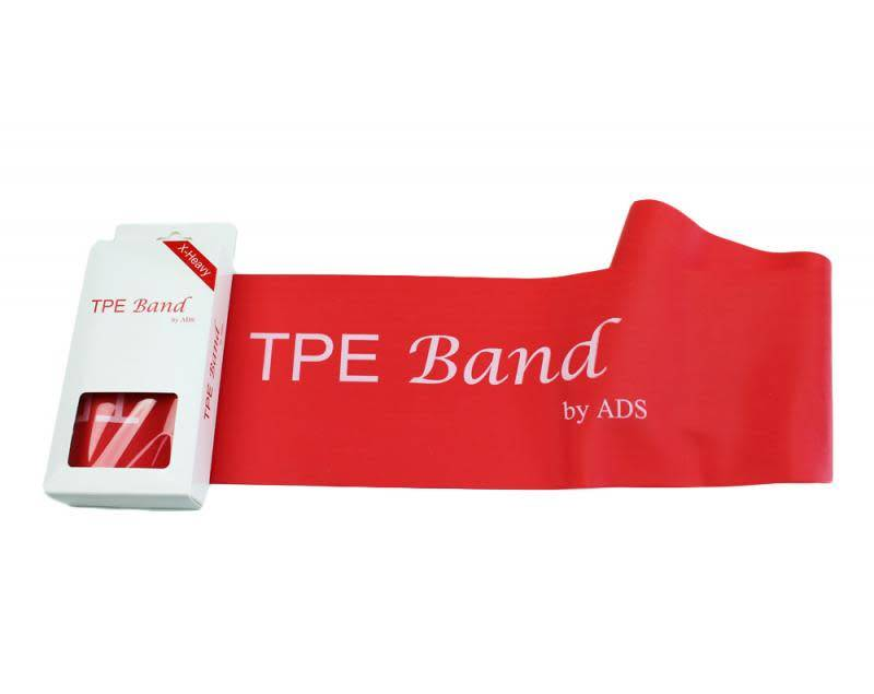 American Dance Supply ADS024-TPE Red Elastic Band-X HEAVY