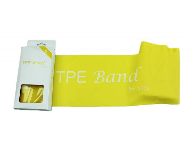 American Dance Supply ADS021-TPE Yellow Band-LIGHT