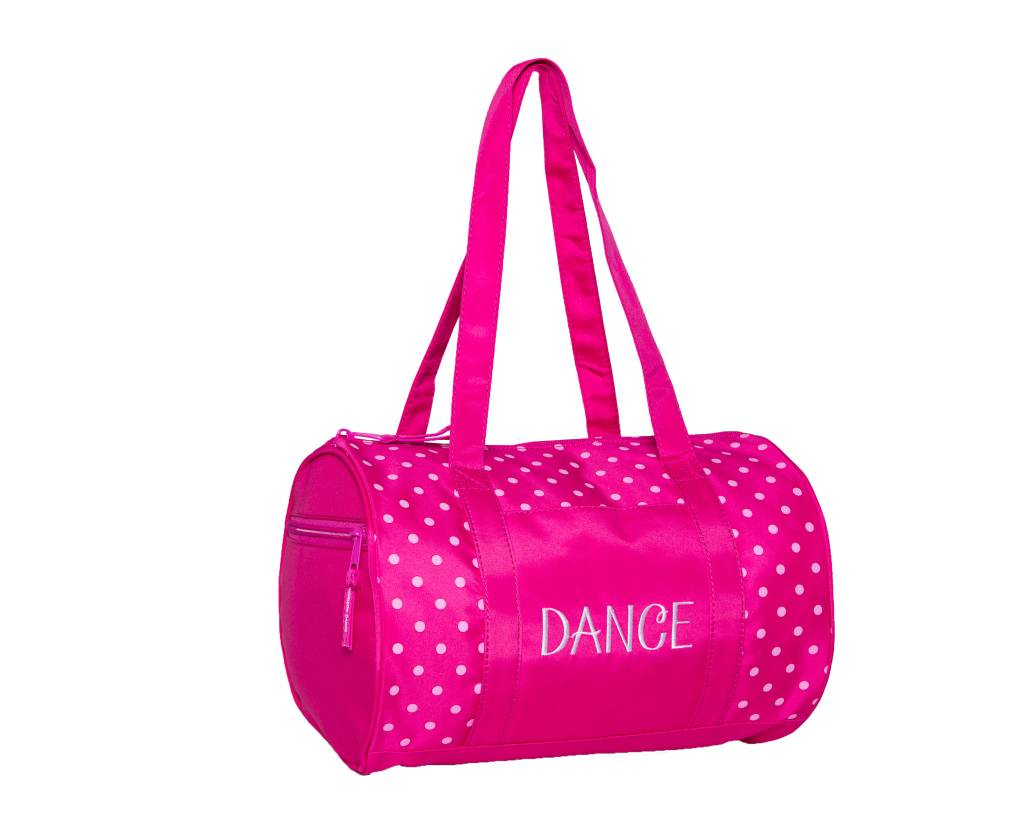 Horizon Dance 1008-Dots Duffel-PINK