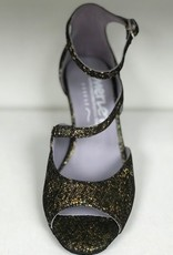 Merlet SYGNE-1315-418-Ballroom Shoes 2.5'' Suede Sole Suede-OR