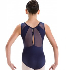 MotionWear 2281-Double Keyhole Back Tank Leo