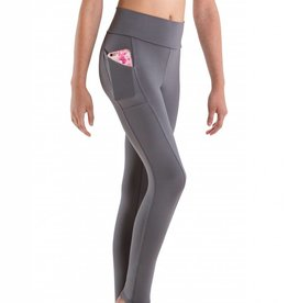 MotionWear 7161-Roll Top Poket Legging-SMALL