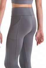 MotionWear 7161-Roll Top Poket Legging-SMALL