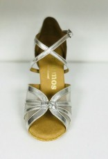 Rummos R368-60RR-009-Ballroom Shoes 2.75'' Suede Sole Leather-SILVER