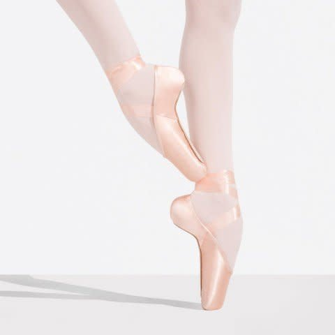 Capezio KYLEE-1140W-Pointe Shoes Slight U Shape