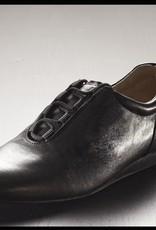 Ballo BALLO SLIDE-Chaussures de Danse Sport Unisexe Semelle de Suède-CUIR NOIR