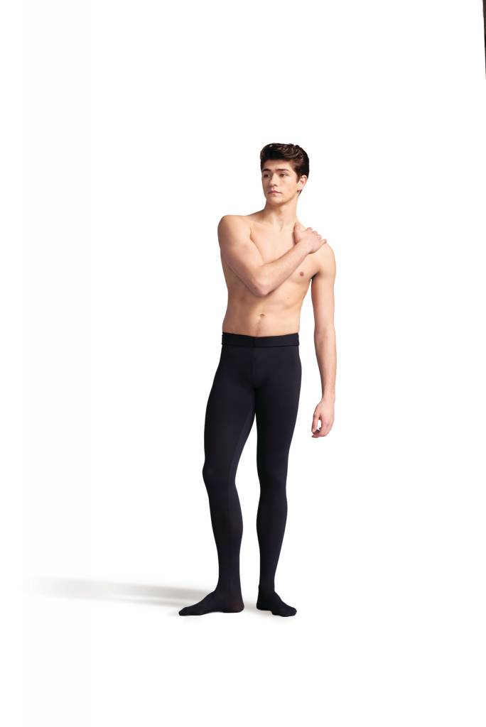 Capezio 10361M-Men Tactel Footed Tight