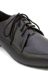 "SoDanca BL102-Robbie Ballroom Men Shoes 1"" Suede Sole-BLACK"