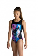 MotionWear 1389-935-Gym Racerback Leo-BEAUTIFUL