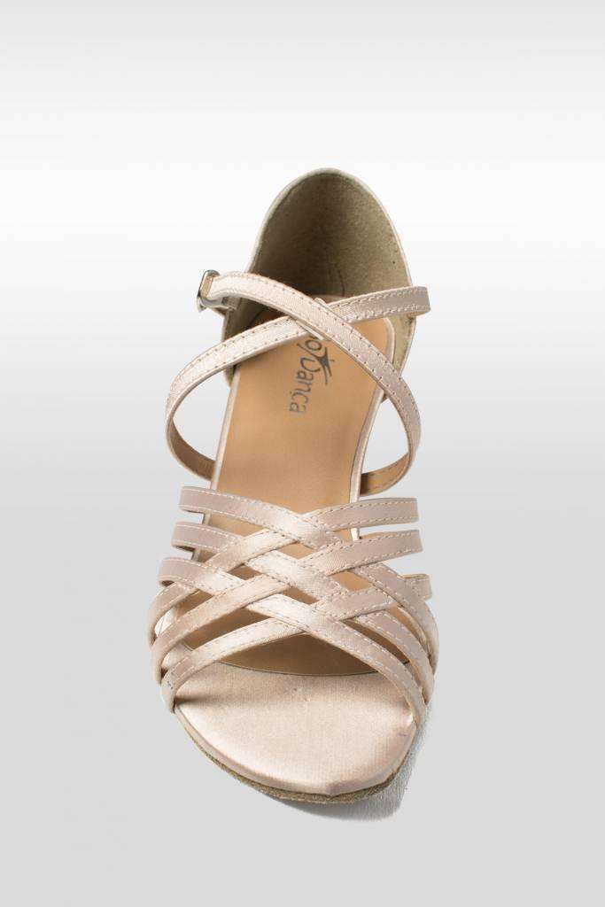 "SoDanca BL180-RABAH-Ballroom Shoes 1.5"" Suede Sole Satin Uper"