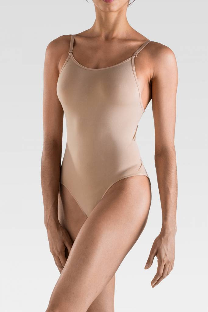 SoDanca UG201-ELLA Child Adjustable Strap Cami Leo-NUDE