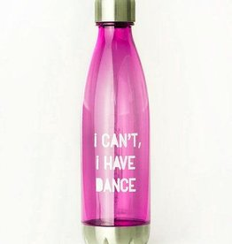Covet Dance ICIHD2-WB-Water Bottle-I CANT I HAVE DANCE PINK
